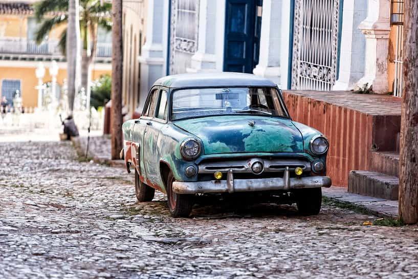 Likvidácia starého vozidla