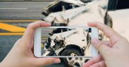 Dopravná nehoda, mobil, auto, havarijná poistka