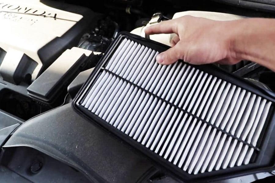 vzduchový filter, výmena vzduchového filtra, servis vozidla