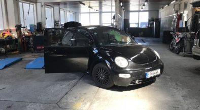 čierny volkswagen, súťaž, VW beetle 1, tuning, servis, autodielňa